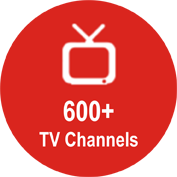600+ TV Channels